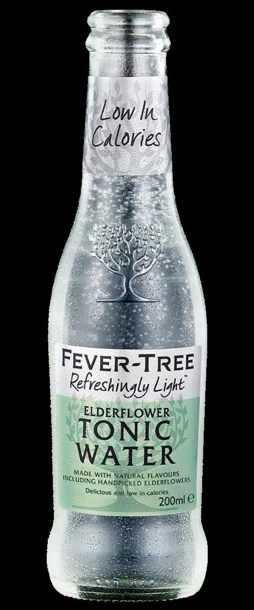 Refreshingly Light Elderflower Tonic Water