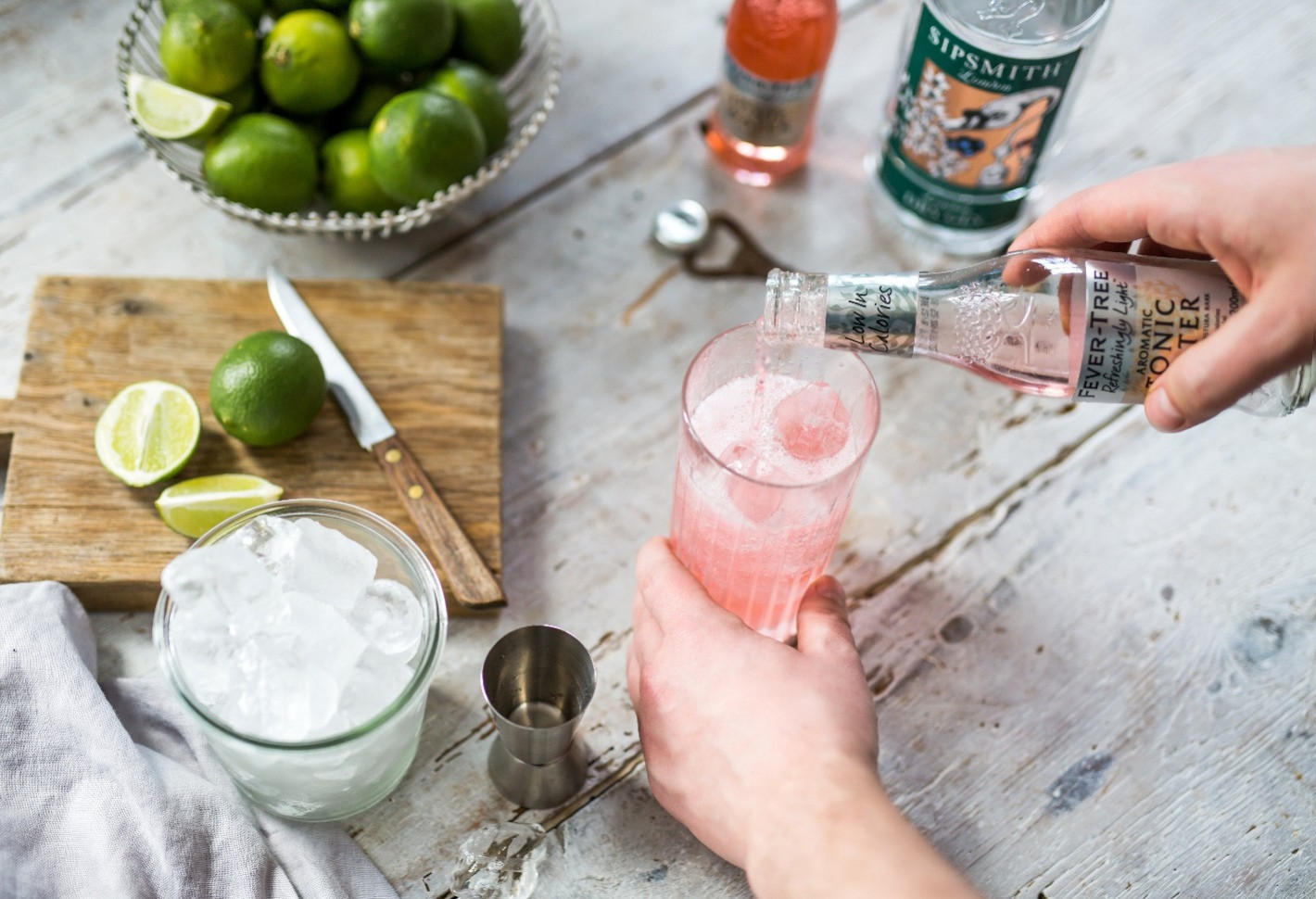 SEE WHICH TONIC WATERS PAIR PERFECTLY WITH YOUR FAVORITE GINS