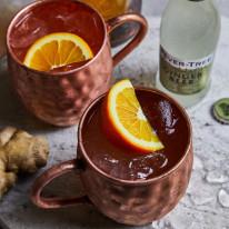 Ginger Beer and copper mug serve