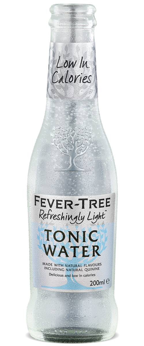 Refreshingly Light Tonic Water