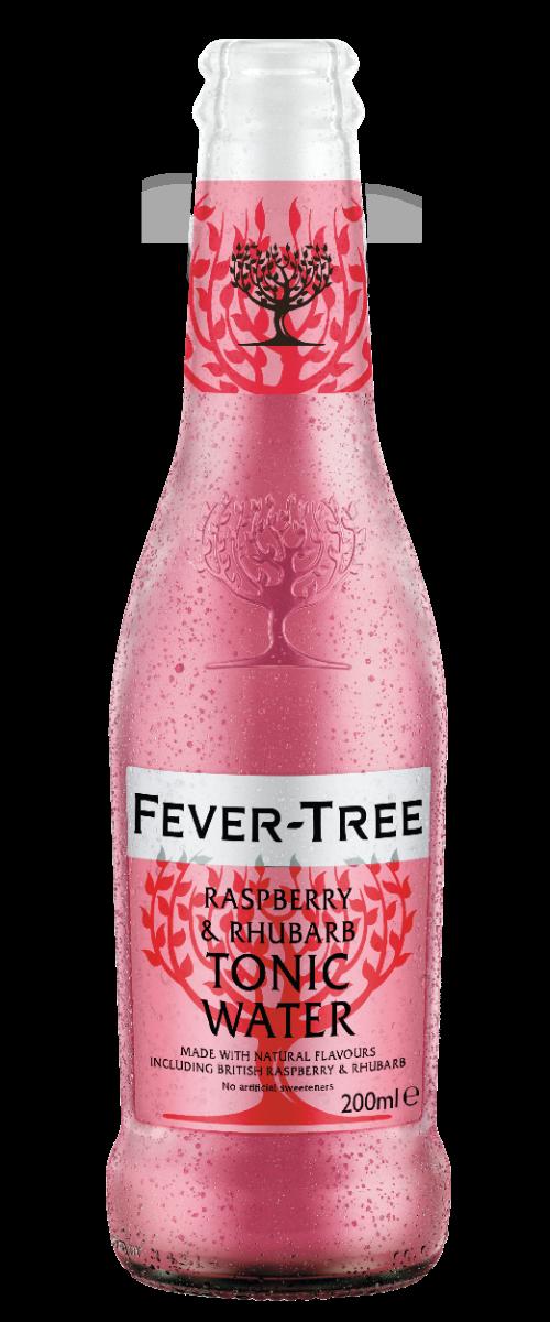 Raspberry & Rhubarb Tonic Water