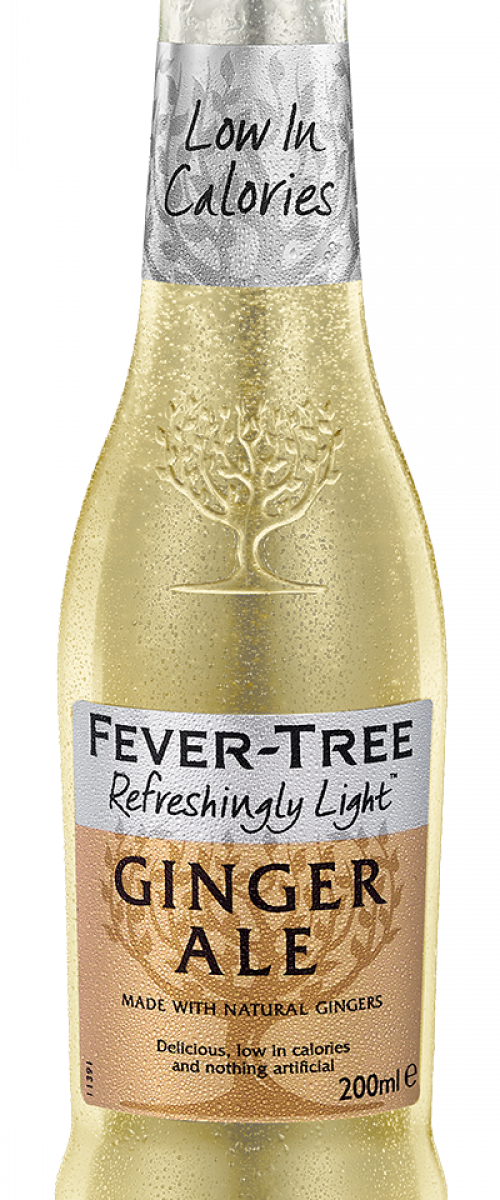 Refreshingly Light Ginger Ale