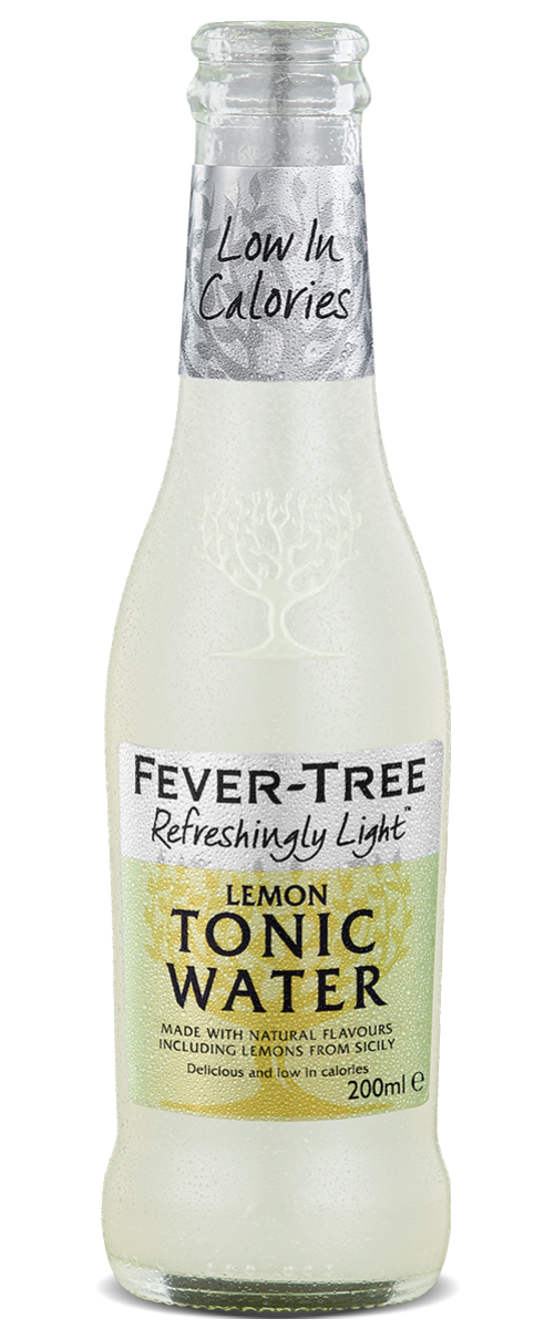 Refreshingly Light Lemon Tonic Water
