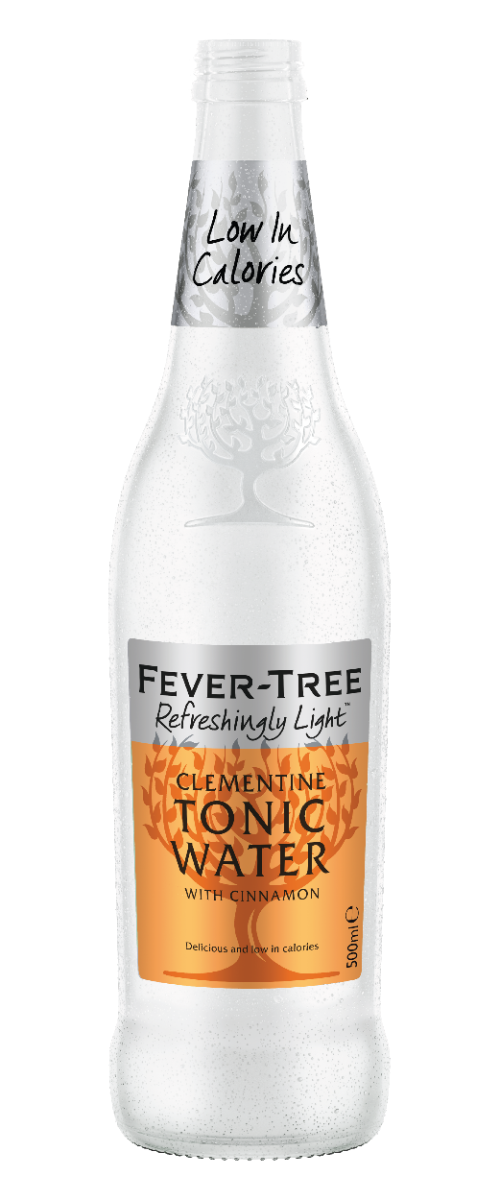 Refreshingly Light Clementine Tonic Water