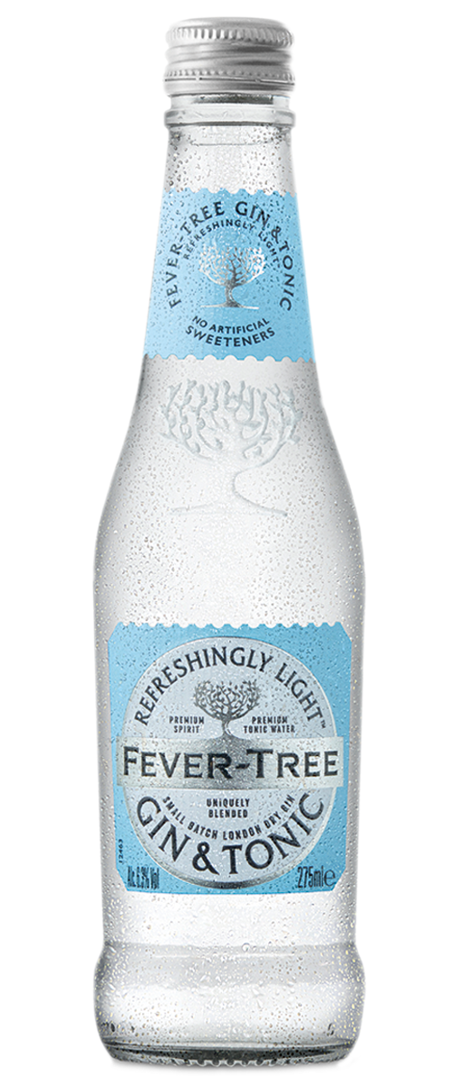 Refreshingly Light Gin & Tonic