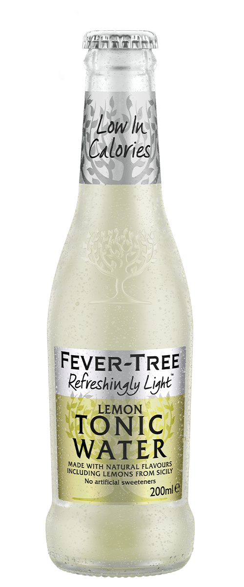 Refreshingly Light Lemon Tonic Water