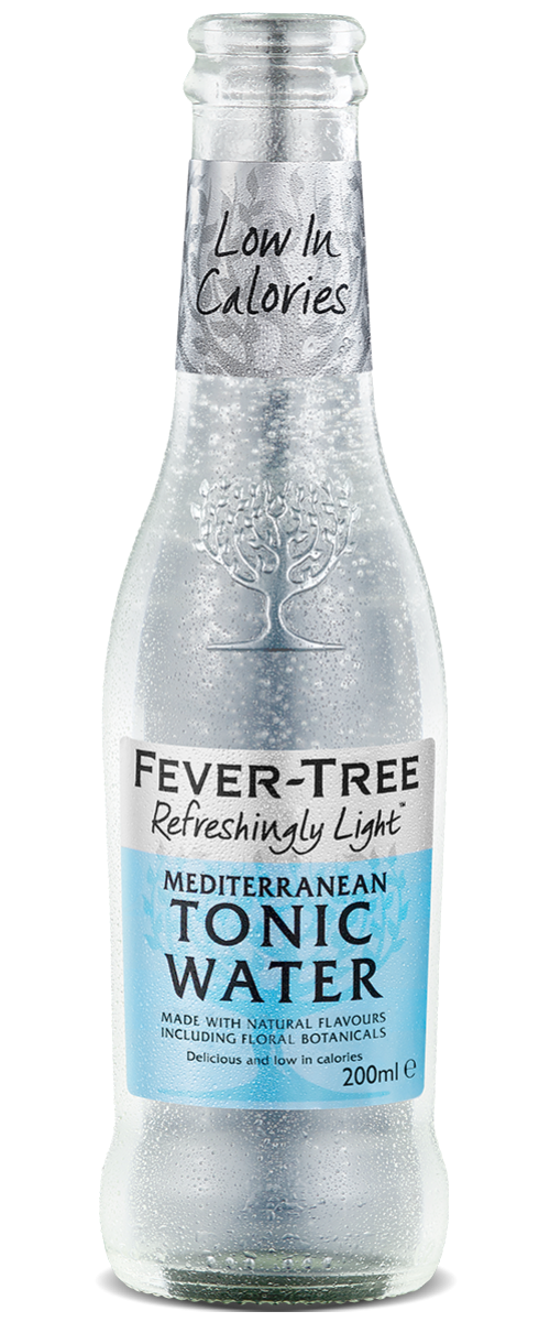 Refreshingly Light Mediterranean Tonic Water
