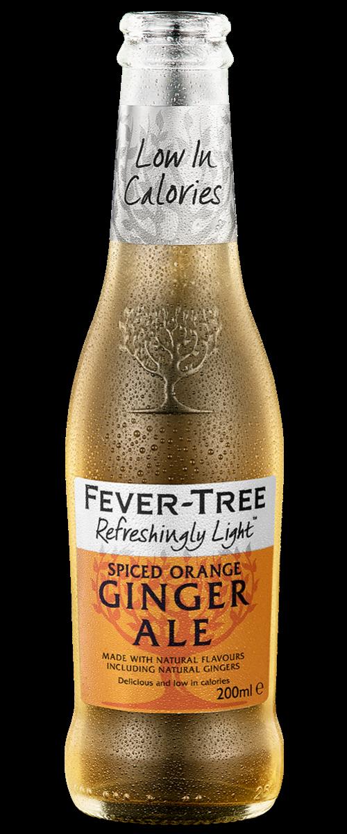 Refreshingly Light Spiced Orange Ginger Ale