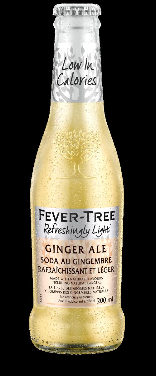 Soda au gingembre rafraîchissant et léger