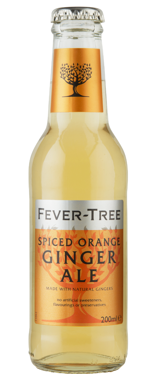 Spiced Orange Ginger Ale