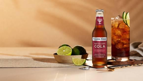 Fever-Tree Distillers Cola trifft Rum und Whiskey auf Augenhöhe
