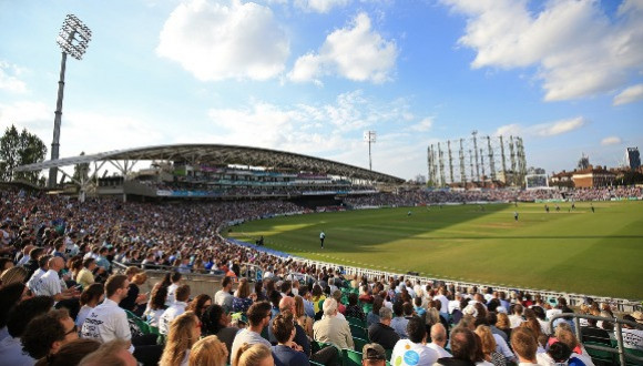 CRICKET AT THE OVAL