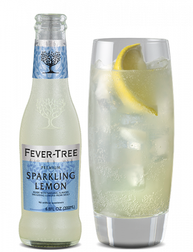 Sparkling Lemon and Cocktail