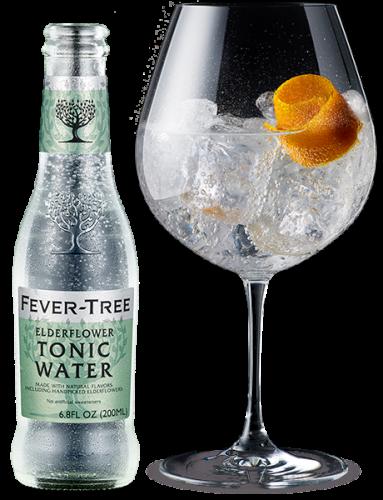 Elderflower Tonic Water and cocktail