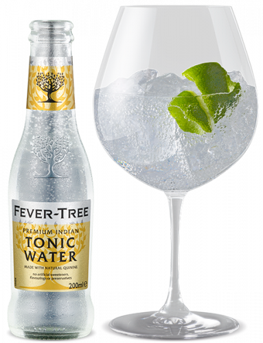Premium Indian Tonic Water and cocktail