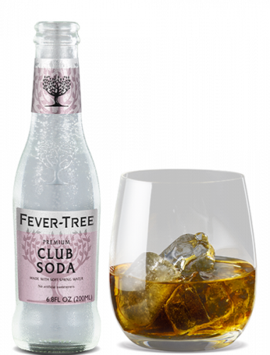 Club Soda and cocktail