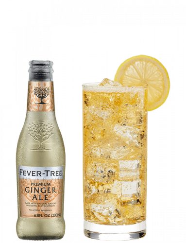 Premium Ginger Ale and cocktail
