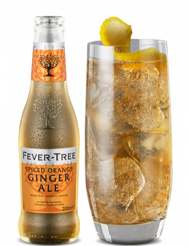 Spiced Orange Ginger Ale and cocktail