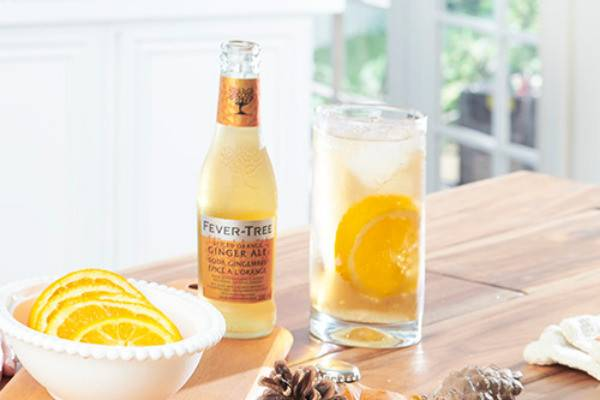 Rye & Spiced ginger ale
