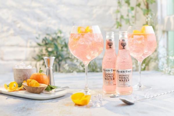 Gin tonic rosa