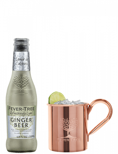 Refreshingly Light Ginger Beer and Cocktail