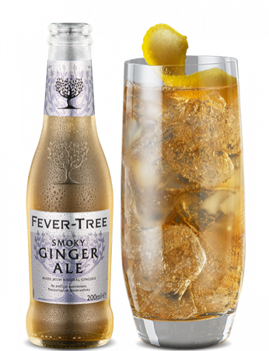 Smoky Ginger Ale and cocktail