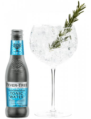 Mediterranean Tonic Water and cocktail