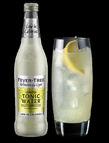 Fever-Tree Refreshingly Light Lemon Tonic Water and serve