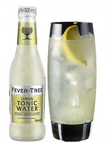 Fever-Tree Lemon Tonic Water and serve